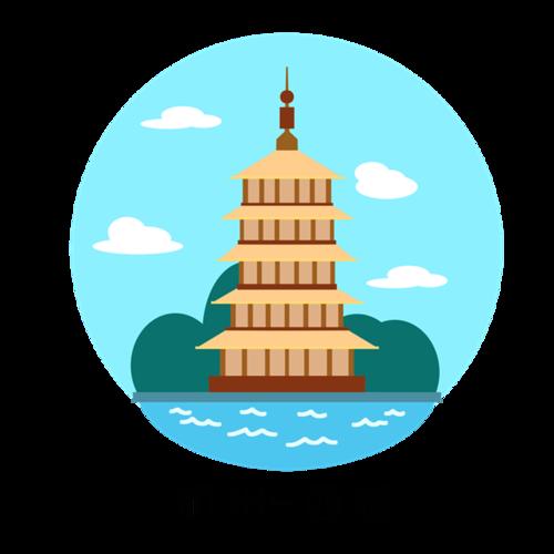 杭州西湖美景图