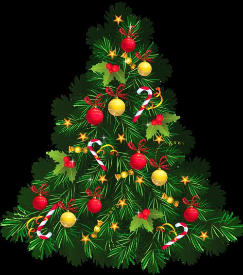 2020圣诞树装饰图片