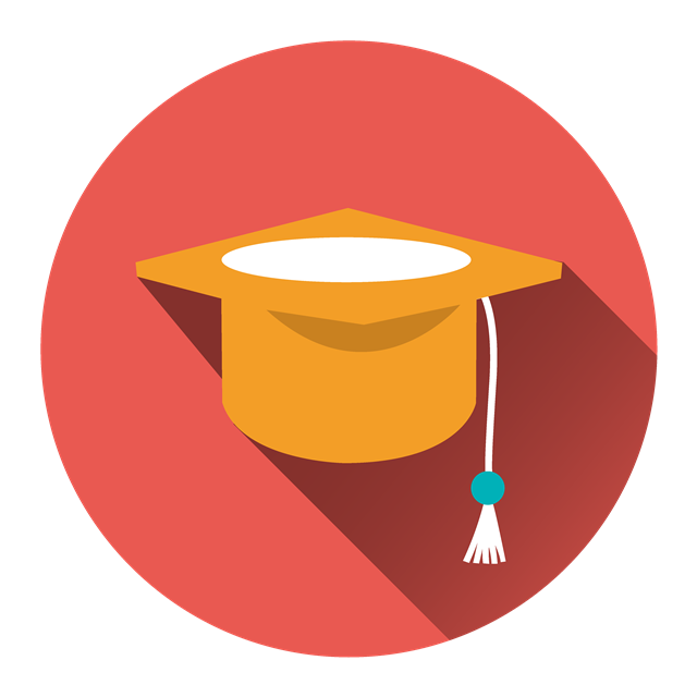 学士帽logo
