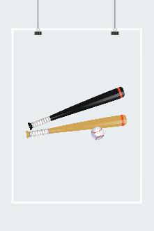 卡通棒球棒