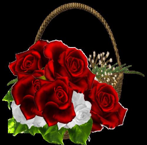 玫瑰礼物花篮