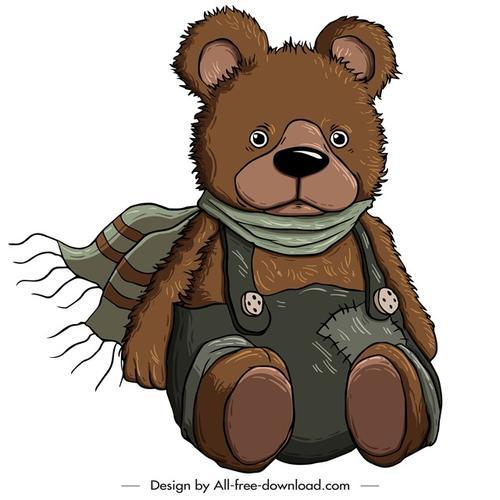 卡通泰迪熊