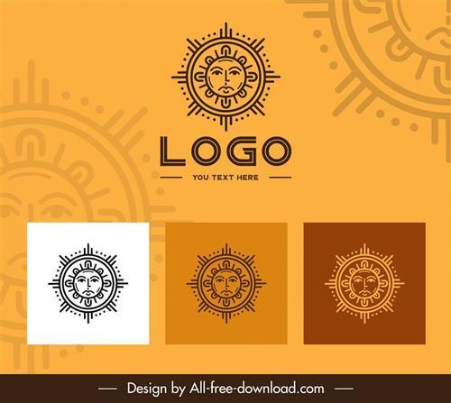 太阳LOGO标志