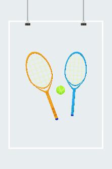 卡通网球拍