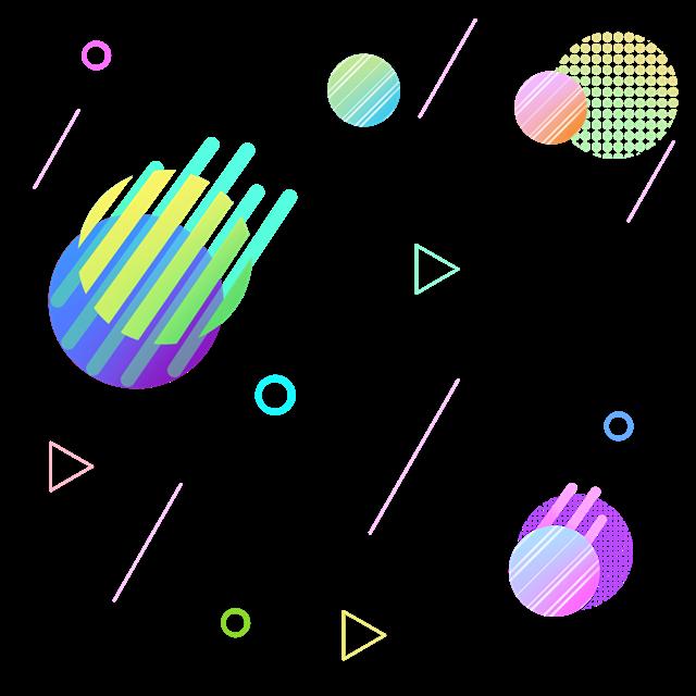 双十一漂浮装饰元素