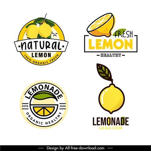 柠檬食物标签