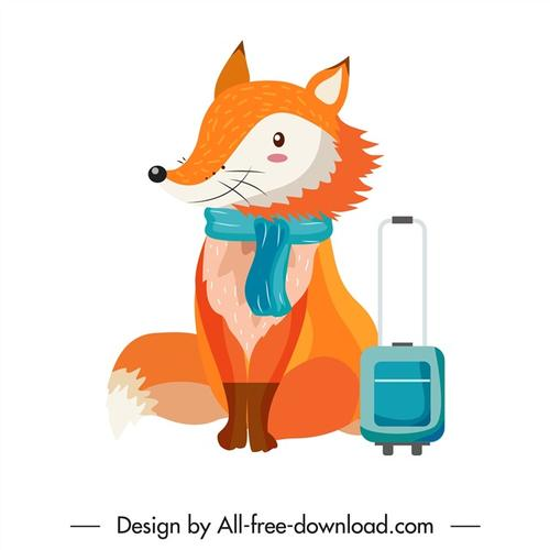 狐狸卡通图片
