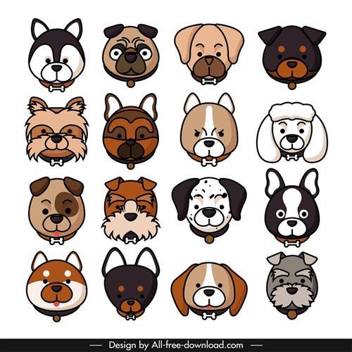 卡通狗狗头像