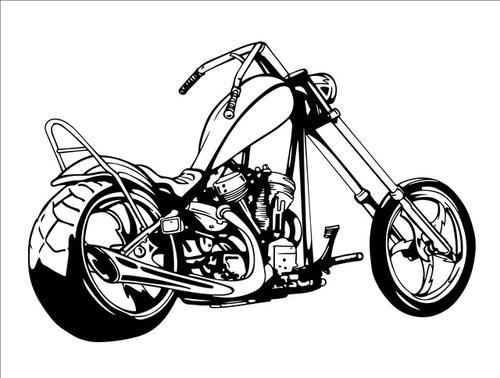 拉雷摩托车图片