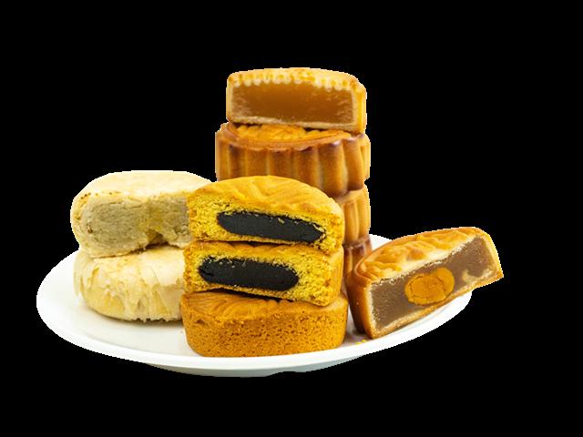 传统中秋月饼图片