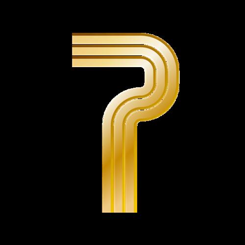 金色数字7