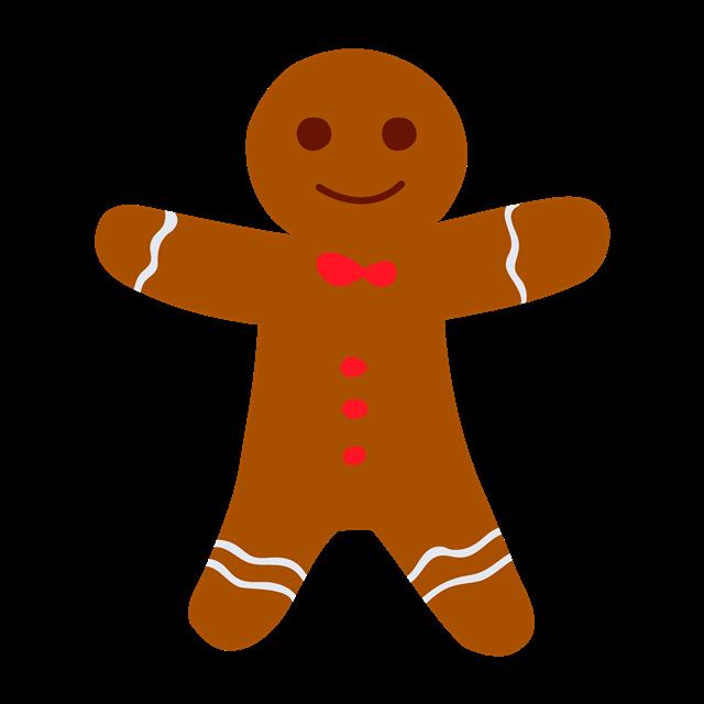 圣诞节小人饼干