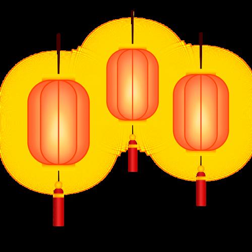 中秋节古风灯笼