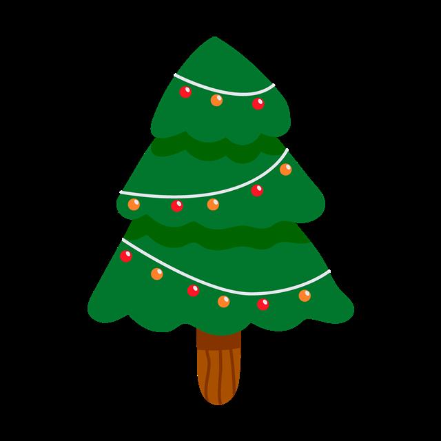 圣诞节装饰物元素