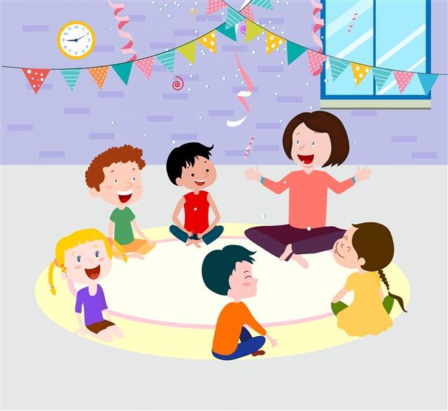 幼儿园小孩图片