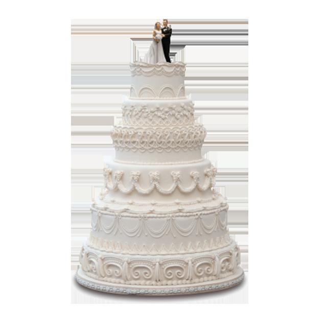最流行的婚礼蛋糕