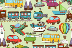 卡通玩具车图片
