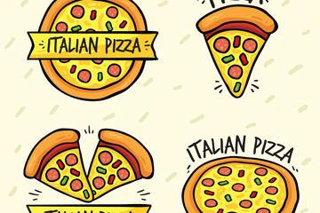 可爱披萨图片