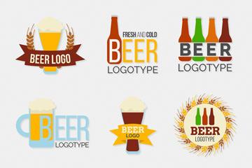 卡通啤酒标志图片