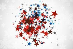 星星装饰图案