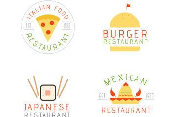 小清新餐厅标志图片