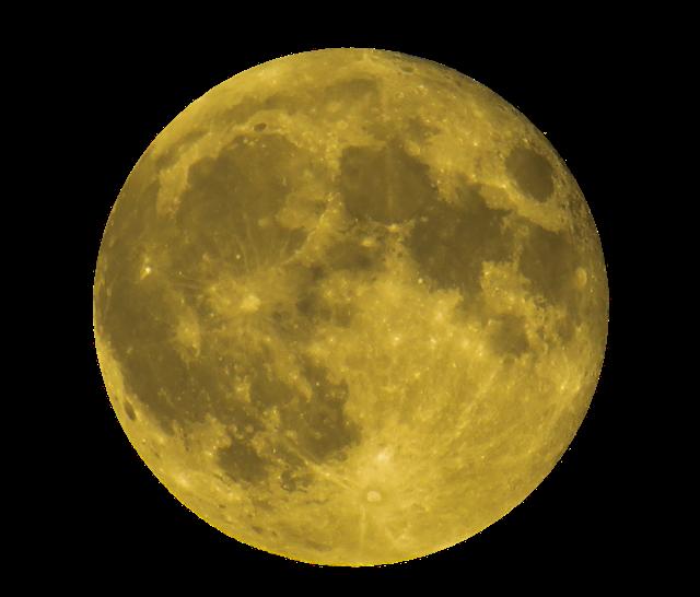 超级月亮矢量图