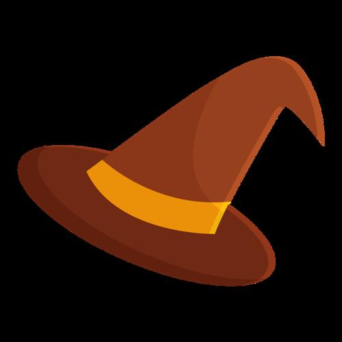 女巫帽子简笔画