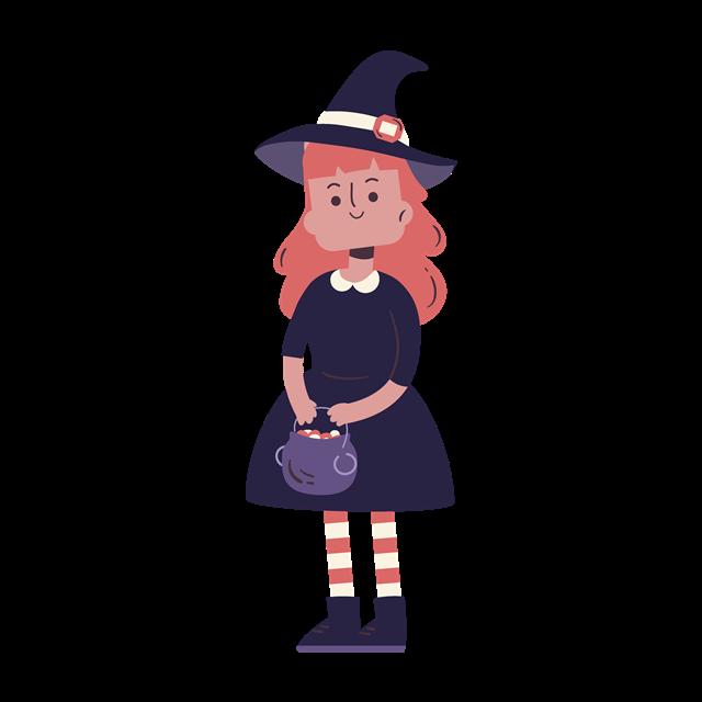 可爱小女巫
