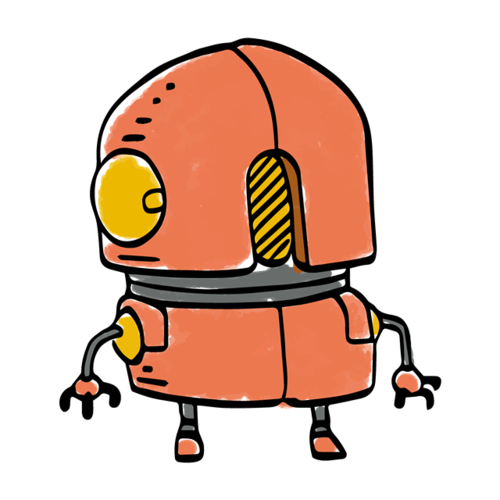 彩绘机器人图片