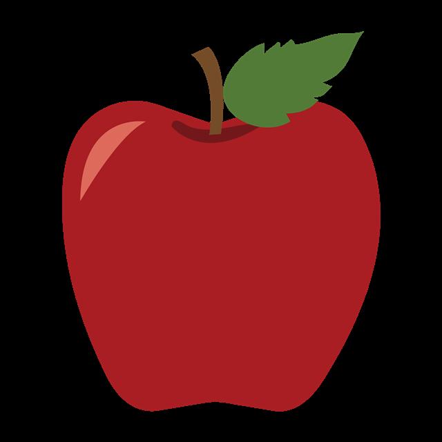 红苹果矢量图
