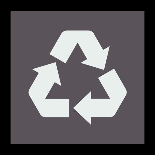 可回收标志图片