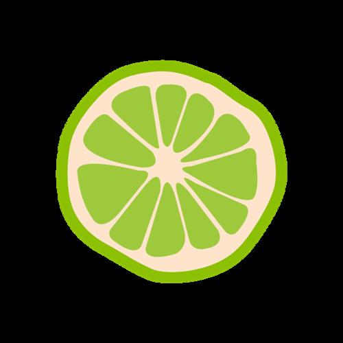柠檬装饰图案矢量图