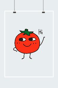 可爱小番茄图片