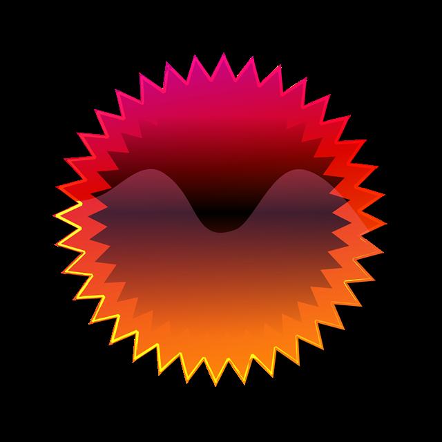 彩色齿轮矢量图