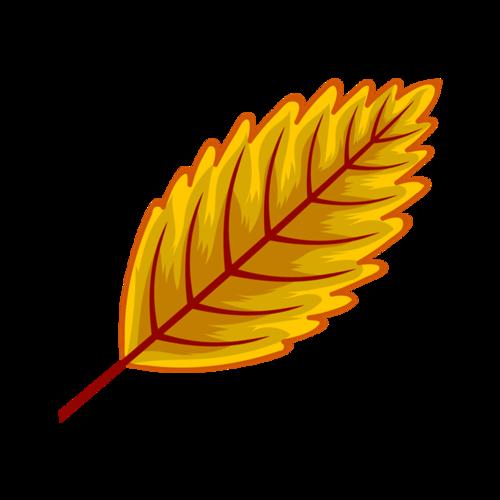 秋天落叶元素