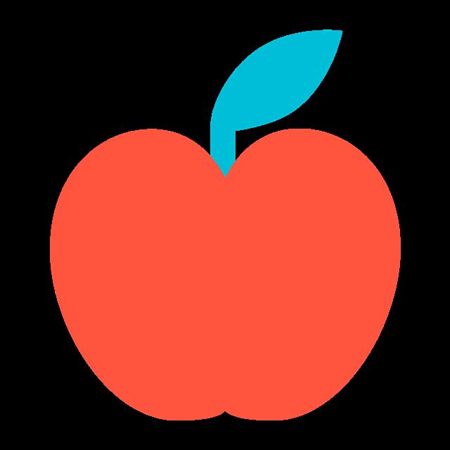 苹果贴纸图片