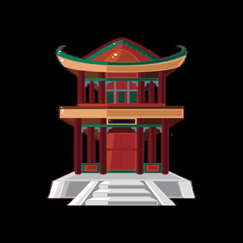 中式阁楼设计图片