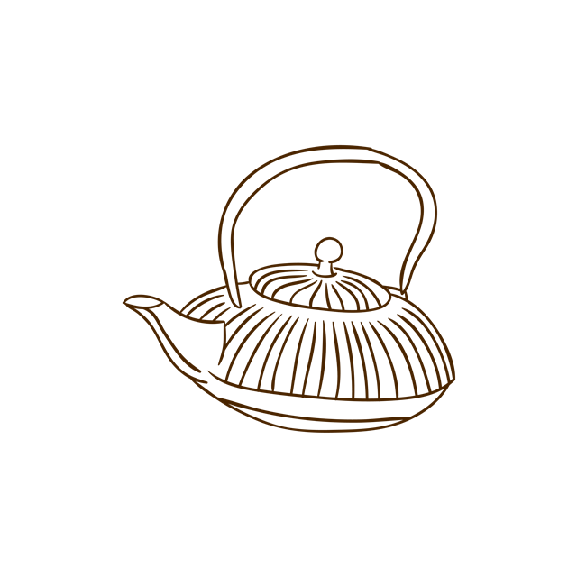 茶壶矢量图