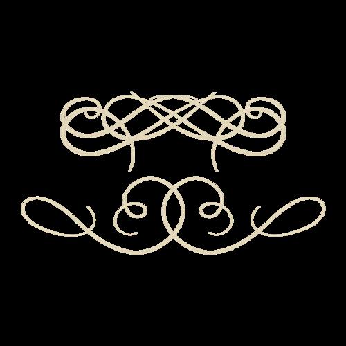 欧式金色线条边框
