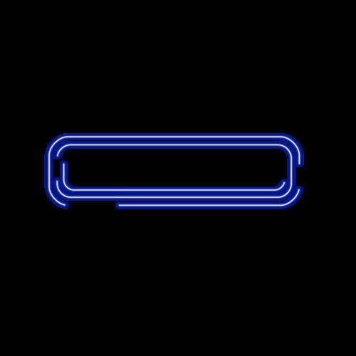 科技霓虹线条边框