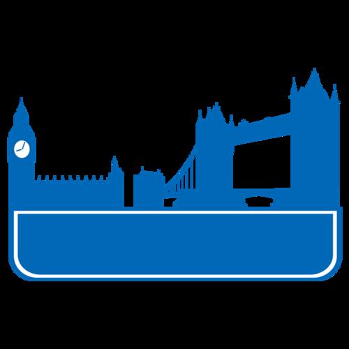 英国伦敦矢量图