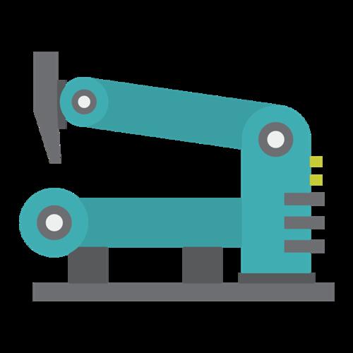 工业机器人矢量图