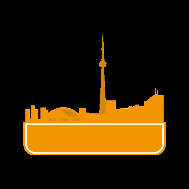加拿大城市剪影