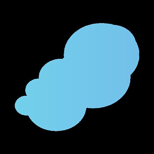 卡通云矢量图