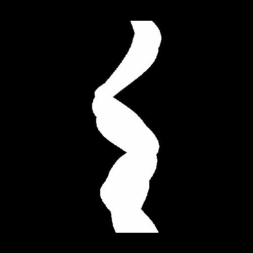 抽象白纱丝带矢量图
