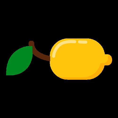 卡通横版柠檬图片