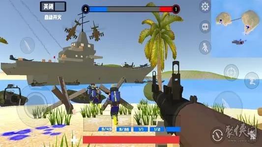 模拟战争的游戏