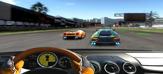 第一人称赛车竞速类游戏